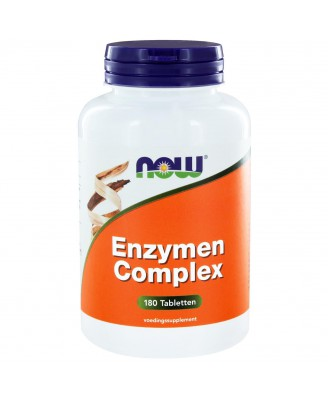 Enzymen Complex (180 tabs) - NOW Foods
