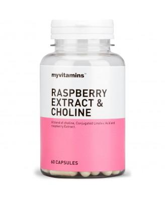 Myvitamins Raspberry Extract & Choline, 180 Capsules (180 Capsules) - Myvitamins