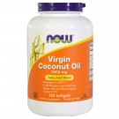 Aceite de coco Virgen 1000 mg 120 cápsulas -Now Foods