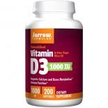Vitamin D3 1000 IU (200 softgels) - Jarrow Formulas