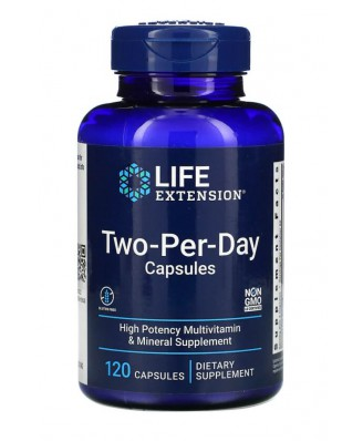 Two-Per-Day Tablets - 120 tabletas - Life Extension