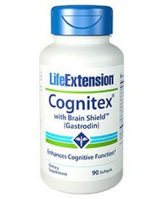 Cognitex with Brain Shield (Gastrodin) (90 Softgels) - Life Extension