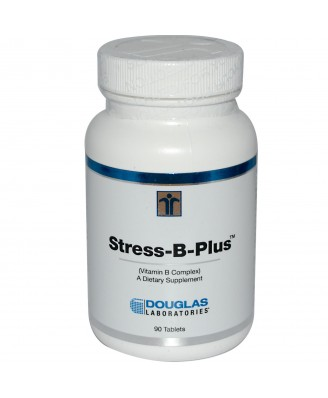 Stress-B-Plus Vitamin B Complex (90 Tablets) - Douglas Laboratories