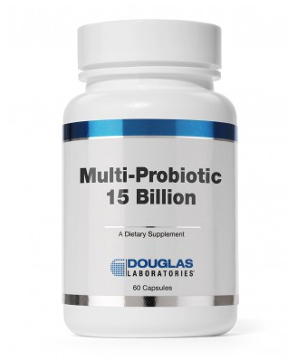 Douglas Laboratories, Multi-Probiotic 15 Billion, 60 Capsules