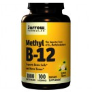 Jarrow Formula, metil B-12, sabor a limón 1000 mcg, 100 tabletas
