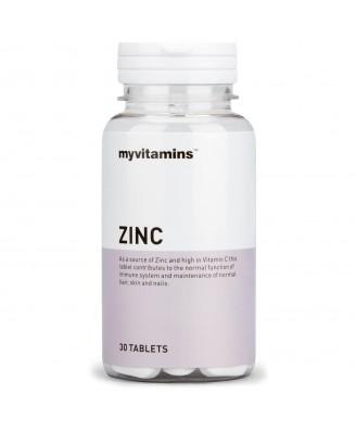 Myvitamins Zinc, 90 Tablets (90 Tablets) - Myvitamins