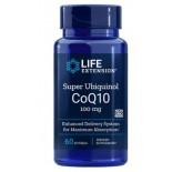 Super Ubiquinol CoQ10 100 mg (60 Softgels) - Life Extension