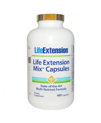 Life Extension, Mix Capsules, 490 Capsules