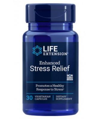 Natural Stress Relief (30 Veggie Caps ) - Life Extension