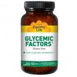 Country Life, Glycemic Factors, 100 Tablets