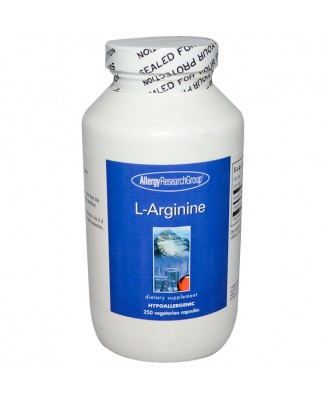 L-Arginine 250 Veggie Caps - Allergy Research Group