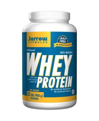 Jarrow Formulas, 100% Natural Whey Protein, Unflavored, 32 oz (908 g)