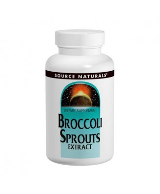Broccoli Sprouts Extract (60 tablets) - Source Naturals