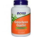 Knoflook Concentraat, Geurloos (250 Softgels) - Now Foods
