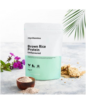 Brown Rice Protein - Unflavoured (1000 gram) - Myvitamins