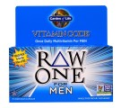 Vitamin Code - Raw One - Once Daily Raw Multi-Vitamin For Men (75 Vegetarian Capsules) - Garden of Life