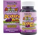 AcidophiKidz, Children's Chewable, Natural Berry (90 Animals) - Nature's Plus
