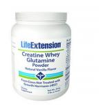 Creatina suero glutamina en polvo (vainilla) - 454 gramos - Life Extension