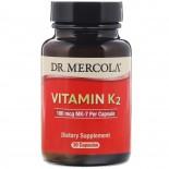 Vitamin K2 (30 Capsules) - Dr. Mercola