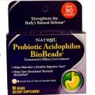 Natrol, Biobeads probiótico acidophilus, 90 de los granos