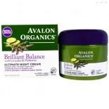 Nacht creme - Lavender Luminosity lijn (57 g) - Avalon Organics