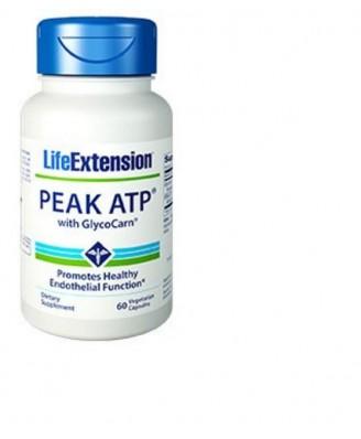 peak atp con glycocarn - 60 cápsulas vegetarianas - Life Extension