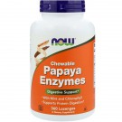 Papaya Enzymes Chewable (360 Lozenges) - Now Foods