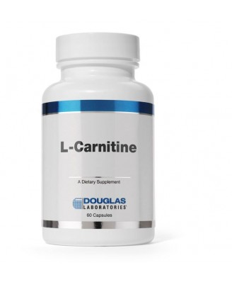 L-carnitina 250 MG - 60 cápsulas - Douglas Laboratories