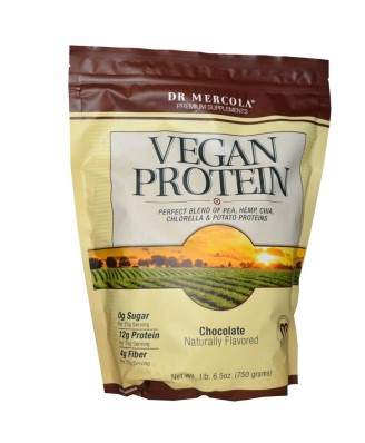 Vegan Protein Chocolate (750 g) - Dr. Mercola