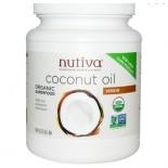 Nutiva, aceite de coco orgánico Virgen, 54 fl oz (1.6 L)