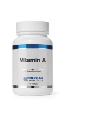 Vitamina A 4000 IU - cápsulas vegetarianas 100 - Douglas laboratories