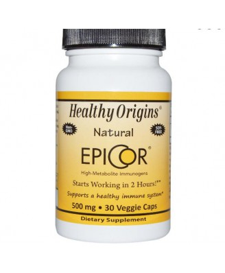 Healthy Origins, EpiCor, 500 mg, 30 Capsules