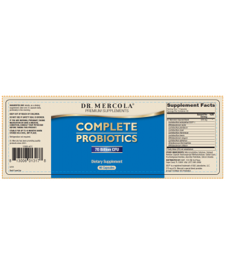 Complete Probiotics (180 Capsules) - Dr. Mercola