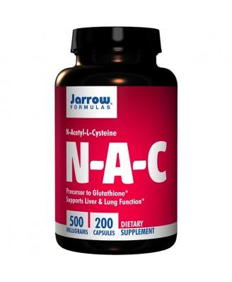 N-A-C N-Acetyl-L-Cysteine 500 mg (200 Capsules) - Jarrow Formulas