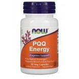 PQQ Energy (30 Vegetarian Capsules) - Now Foods