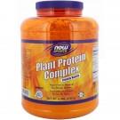 Plant Protein Complex- Creamy Vanilla (2722 gram) - Now Foods