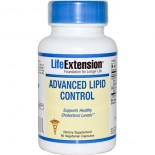 Advanced Lipid Control (60 Veggie Capsules) - Life Extension