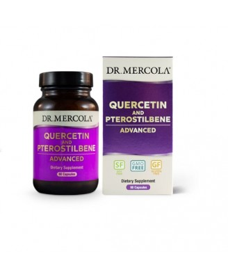 Quercetin and Pterostilbene Advanced (60 capsules) - Dr. Mercola
