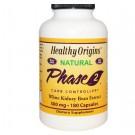 Bloqueador de carbohidratos: blanco concentrado de frijol, 500 mg (180 cápsulas) - Orígenes saludables
