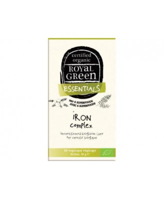 Iron Complex Organic – 60 vcaps – Royal Green