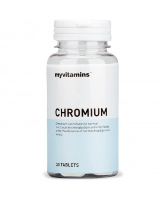 Chromium (30 Tablets) - Myvitamins