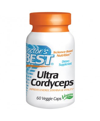 Ultra Cordyceps (60 Veggie Caps) - Doctor's Best