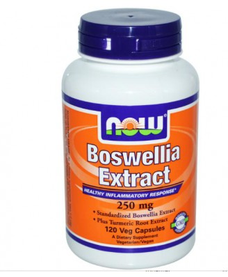 Extracto de Boswellia 250 mg (120 Veg Caps) - Now Foods