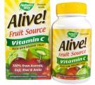 Nature's Way, Alive!, Vitamin C, 100% Whole Food Complex, 120 Vcaps