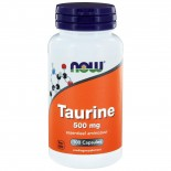 Now Foods - taurina 500 mg - 100 cápsulas