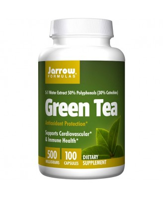Green Tea 500 mg (100 Vegetarian Capsules) - Jarrow Formulas