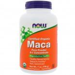Certified Organic Maca Pure Powder (198 gram) - Now Foods