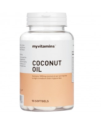 Coconut Oil (30 Softgels) - Myvitamins