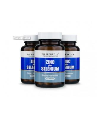 Zinc plus Selenium 15 mg (30 capsules) - Dr. Mercola