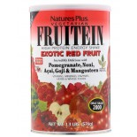 Fruitein - High Protein Energy Shake - Exotic Red Fruit (576 grams) - Nature's Plus